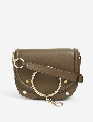 See by Chloe Hana leather crossbody saddle bag