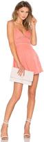 NBD Pink Champagne Dress
