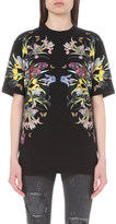 Givenchy Floral-print cotton-jersey t-shirt