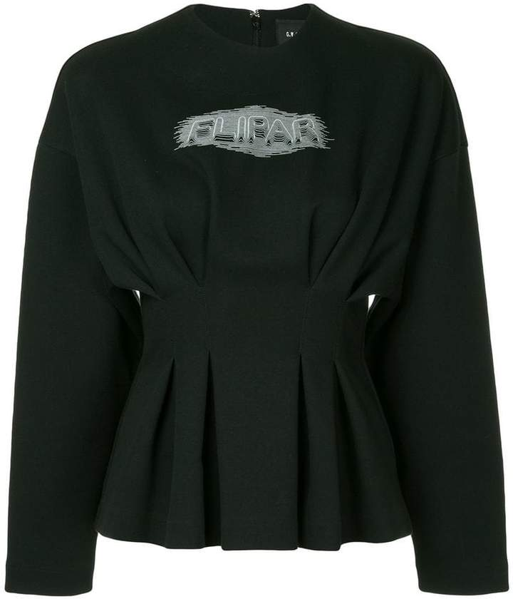 G.V.G.V. pleated waist jumper