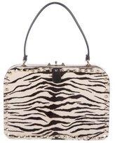 Valentino Ponyhair Rockstud Handle Bag