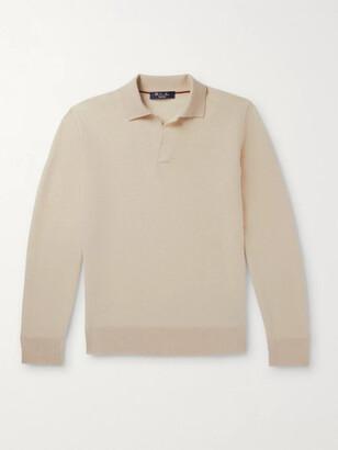 Loro Piana Roadster Slim-Fit Cashmere Polo Shirt