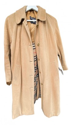 Burberry Brown Wool Trench coats