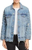 Sunset & Spring Embellished Denim Jacket - 100% Exclusive
