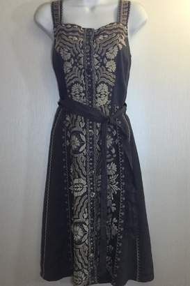 Johnny Was Embroidered Linen Sundress