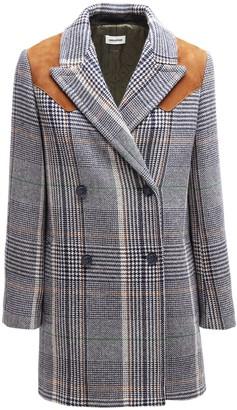 Zadig & Voltaire Motty Carre Wool Blend Coat