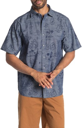 Tommy Bahama Tahiti Treasure Short Sleeve Woven Shirt