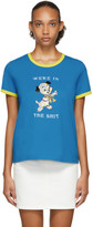 Marc Jacobs Blue Magda Archer Edition The Collaboration T-Shirt