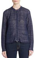 Eileen Fisher Organic Linen-Blend Jacket