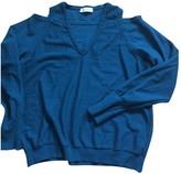 CNC Costume National Blue Wool Knitwear for Women
