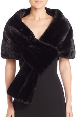 The Fur Salon Zandra Rhodes For Mink Stole