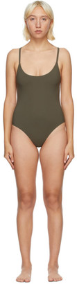 Lido Khaki Uno One-Piece Swimsuit