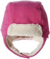Zutano Cozie Fleece Furry Trapper Hat (Toddler) - Fuchsia - 2T