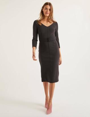 Margie Ottoman V-Neck Dress