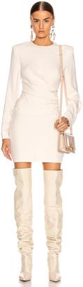 Stella McCartney Cady Dress in Gesso | FWRD