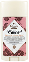 Nubian Heritage Patchouli + Buriti 24hr Deodorant Stick