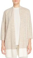 Eileen Fisher Color Block Kimono Cardigan
