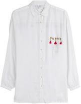 OndadeMar Tassel and Stud Embellished Shirt
