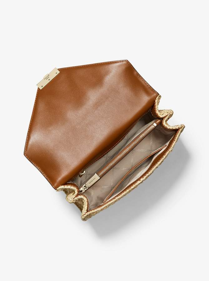 da9ce35edf6e MICHAEL Michael Kors Brown Chain Strap Handbags - ShopStyle