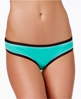 Bar III Whip It Good Stitched Hipster Bikini Bottoms, Only at Macy's
