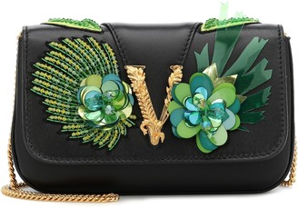 Versace Virtus embellished crossbody bag