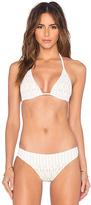 Nightcap Clothing Spiral Lace Bikini Top