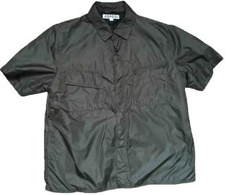 Aspesi Green Trench Coat for Women