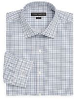 Vince Camuto Slim-Fit Plaid Check Cotton Dress Shirt