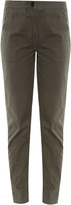 Raquel Allegra Stonewash Ticking Trousers
