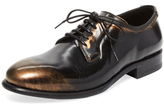 N.D.C. Made By Hand Claire Meatllic Leather Oxford