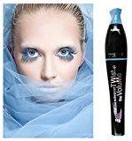 Waterproof blue purple black green brown mascara charming longlasting makeup (Blue)