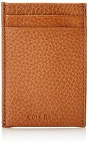 Cole Haan Men's Pebbled-Leather Card Case with Money Clip