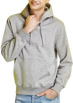 MRSMR Men's Youth Fleece Sweatshirt Hoodies Soft Pullover Tops M