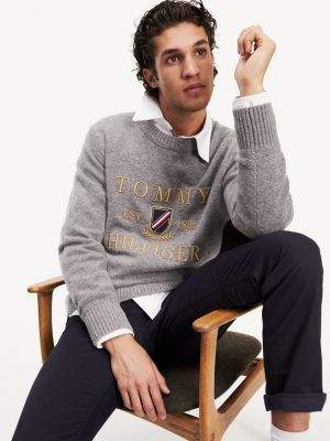 Tommy Hilfiger Icon+ Wool Cashmere Blend Jumper