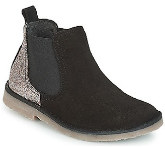 Citrouille et Compagnie FIGOULI girls's Mid Boots in Black