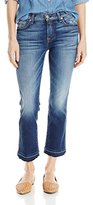 7 For All Mankind Women's Cropped Bootcut with Released Hem Jean in