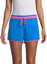 Juicy Couture Women's Two-Tone Drawstring Shorts