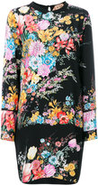 No.21 floral embroidered dress - women - Silk/Acetate - 40
