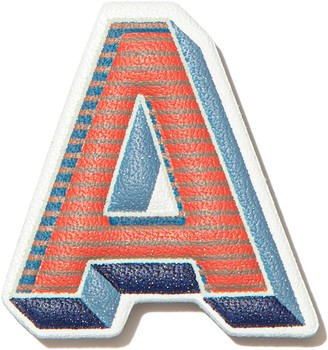 FitFlop Alphabet Leather Stickers (A) 2-Pack
