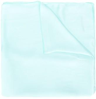 Blumarine Silk Block Colour Scarf