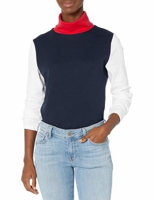 Tommy Hilfiger Women's Long Sleeve Turtleneck Top