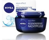 Nivea Genuine German Regenerating Night Care Cream Aqua Effect with Lotus Flower Extract for all skin types 1.69 fl. oz - 50ml
