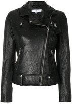 IRO micro studded biker jacket