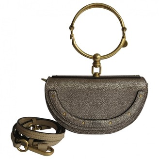 Chloé Bracelet Nile Metallic Leather Handbags