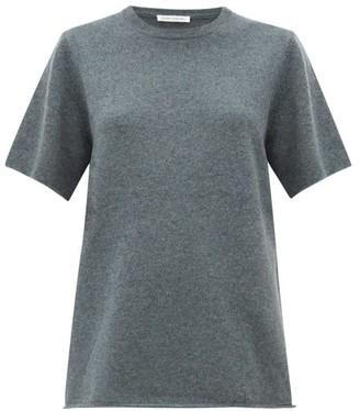Extreme Cashmere - No.64 Wave Stretch Cashmere T Shirt - Womens - Grey