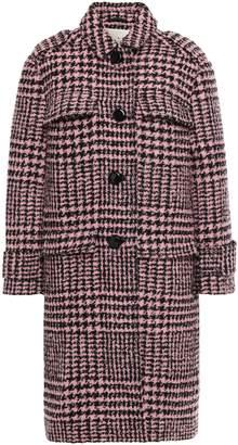 Kate Spade Houndstooth Boucle-tweed Coat