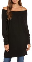 Trouve Women's Off The Shoulder Sweater Tunic