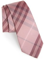 Burberry Men's 'Manston' Check Silk Tie