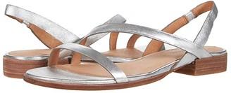 Madewell Heidi Bare Slingback Sandal in Metallic (Silver) Women's Sandals