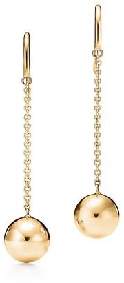 Tiffany & Co. City HardWear ball hook earrings in 18k gold